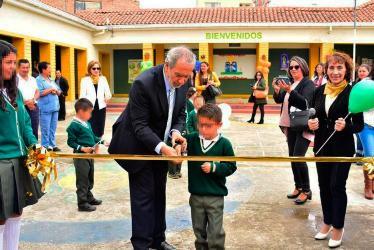 Alcalde de Pasto inauguró obras de infraestructura en la IEM Escuela Normal Superior de Pasto