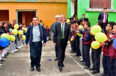 Alcalde de Pasto recibió homenaje durante la celebración de los 88 años de vida institucional de la IEM ITSIM