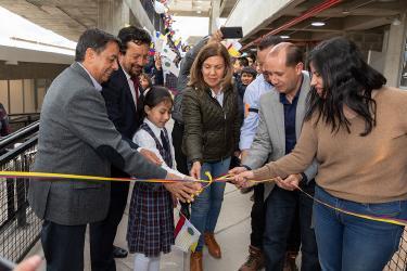 Estudiantes de la IEM Nuestra Señora de Guadalupe del Corregimiento de Catambuco ya cuenta con Infraestructura Educativa Nueva